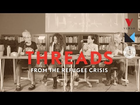 """Threads"" book launch and discussion on the refugee crisis"