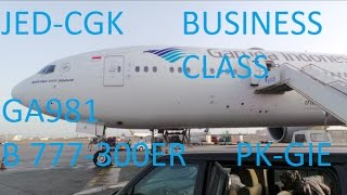10 flight report with garuda indonesia