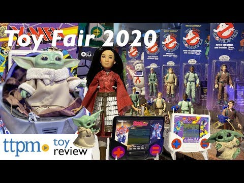 The Coolest Toys From Hasbro @ Toy Fair 2020- Nerf, Trolls, Baby Yoda, Ghostbusters, Frozen 2, Mulan