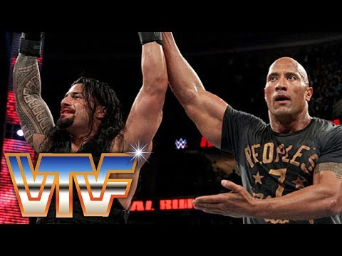 WTF Retro: WWE Royal Rumble 2015 | The Rock Can't Save Roman Reigns From The H8rs