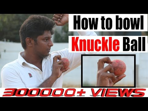 How to Bowl Knuckle ball?   Eng Subs   Nothing But Cricket
