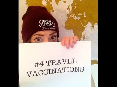 Travel Vaccinations - Backpacking For Beginners Ep. 4