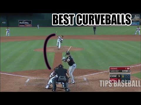 MLB NASTIEST CURVEBALLS EVER😱
