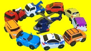 Tobot Mini C,D,R,W,X,Y,Z & Zero Police Fire Engine car toys