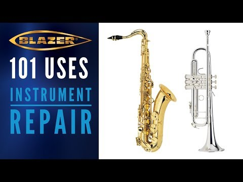 101 Uses For a Blazer Torch: Saxophone Repair