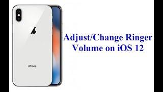 Hoe om te Veranderen/Aanpassen/Verhogen Volume Belsignaal aan iOS-12 (iPhone & iPad)