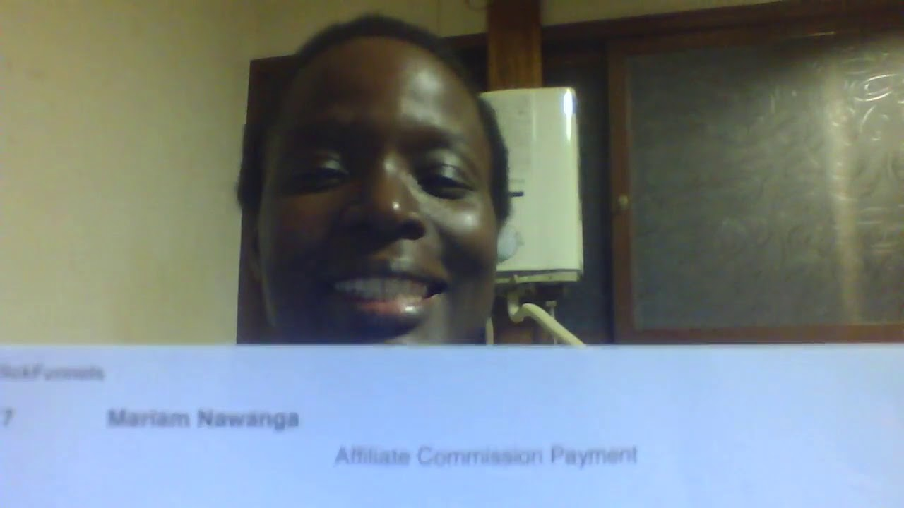 My First Affiliate Commission Payment Check (ClickFunnels