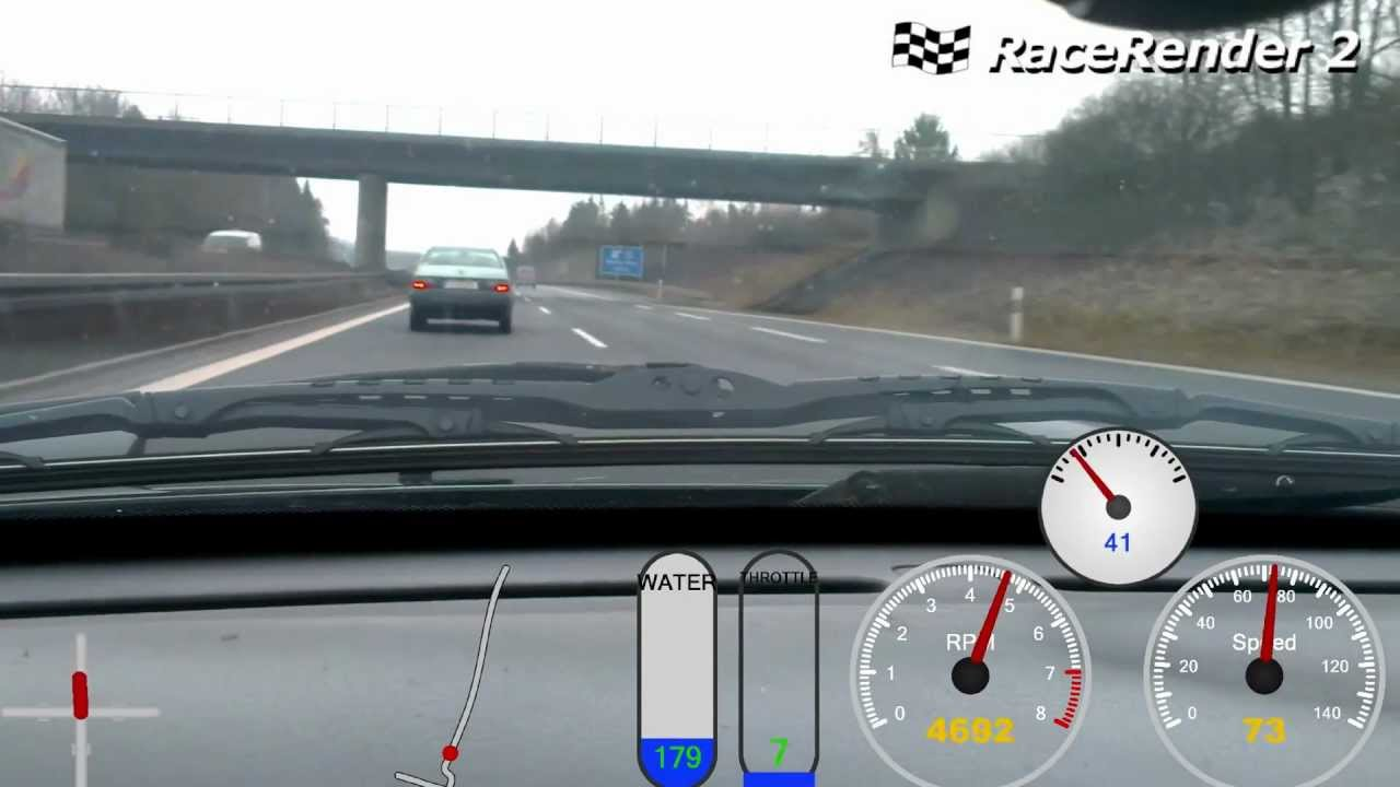 Ford Probe GT 24v Turbo Run On The Autobahn