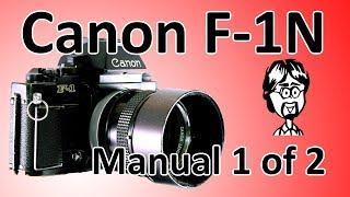 Канон Ф-1Н (Ф-1 нове) відео інструкція 1 з 2