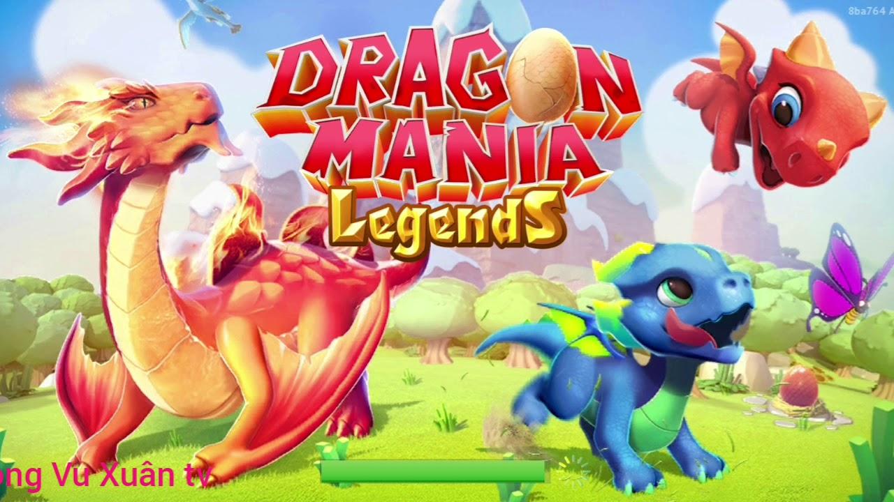 [Dragon Mania Legend] hack gem được toàn food và gold ( vietsub)