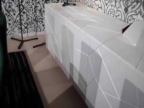 Credenza Moderna Con Espejo : Madia segno tavolo shangai e sedie luna di riflessi youtube