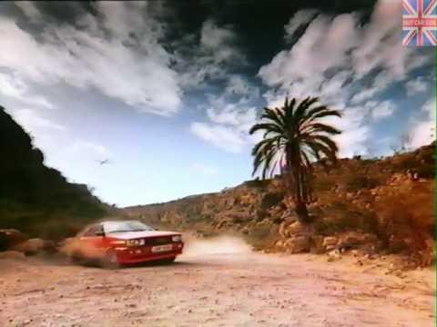 Audi - Advert - Audi Quattro (C3) - Glider (1983)