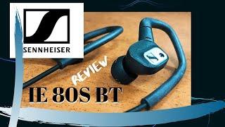 BEST Bluetooth Neckband!! Sennheiser IE 80S BT Review