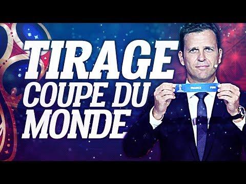 🔴 DIRECT / LIVE : TIRAGE DE LA COUPE DU MONDE // Club House