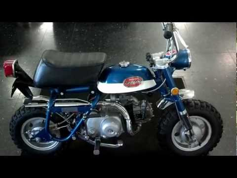 1971 Honda Mini Trail 50 For Sale / Walk Around - Honda of Chattanooga Vintage Honda Motorcycles