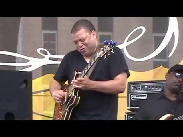 Eric Slaughter Tom Byrne Dave Black at Bluesweek