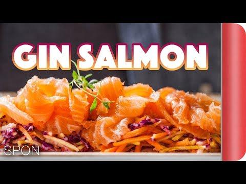 Stunning Christmas Starter - Salmon & Slaw Recipe