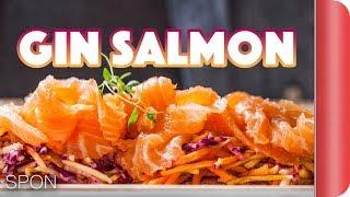 Stunning Apetiser - Salmon & Slaw Recipe