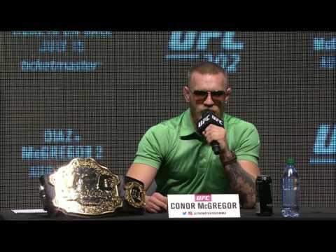 UFC 202: Diaz Vs McGregor 2 - Press Conference Highlights