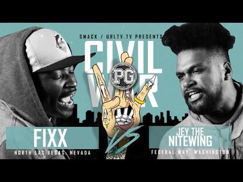 FIXX VS JEY THE NITEWING  | URLTV