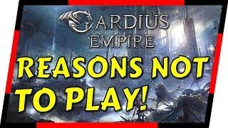 Gardius Empire - THE WORST STRATEGY GAME AROUND?   MGQ Ep. 106