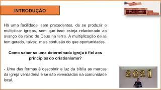 EBD Online | As marcas da igreja verdadeira  | Pr. Renato Crescêncio