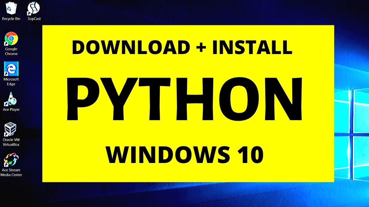 How to download and install python 3.8.2 on Windows 10 ...