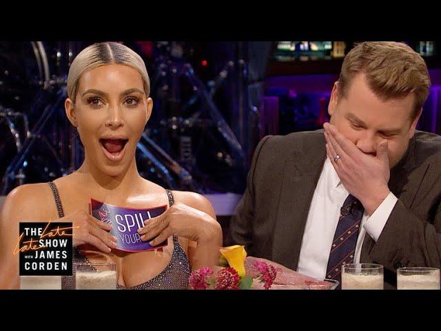 Ким пие смути од сардини за да не одговори на прашање за бремените Клое и Кајли