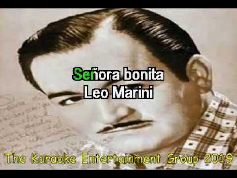 SEÑORA BONITA LEO MARINI KARAOKE