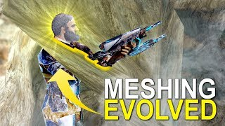 MESHED AGAIN IN MESHING EVOLVED - ARK:SURVIVAL EVOLVED (OFFICIAL 6 MAN) - Ep.3