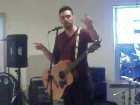 Shane Performing at Jared's Graduation Party