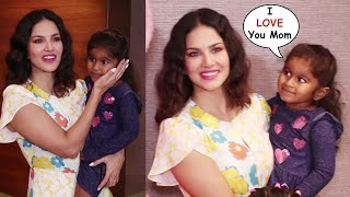 Sunny Leone's CUTE Moments With Daughter Nisha Kaur Weber At Viacom 18 Peppa Pig Musical Party