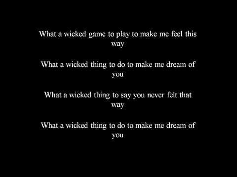 Corey Taylor  Wicked Game Lyrics