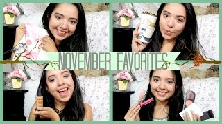 NOVEMBER FAVORITES ♡ Makeup, Music & More! Thumbnail