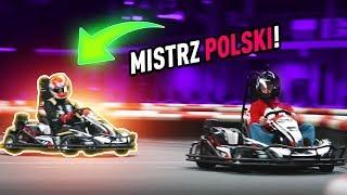 KAMYK vs MISTRZ POLSKI W KARTINGU!!