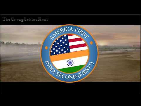 America First, India Second (Not Really, Strings attached) #Everysecondcounts #AmericaFirst