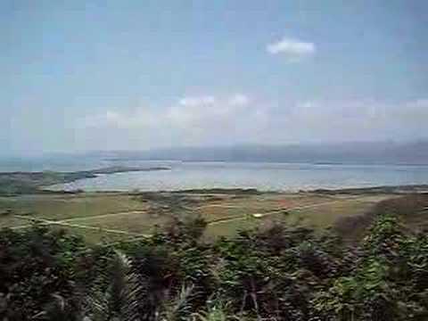 小浜島最高峰。大岳からの景色(南・西)