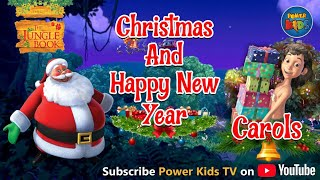 Merry Christmas & Happy New Year Song | Jungle Book Cartoon