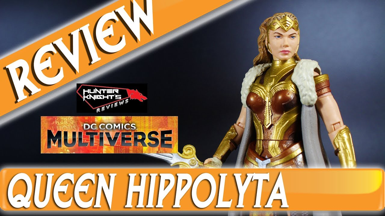 Doll review 2017 black label queen hippolyta doll face three - Review Queen Hippolyta Wonder Woman Movie Dc Mutliverse Figure By Mattel