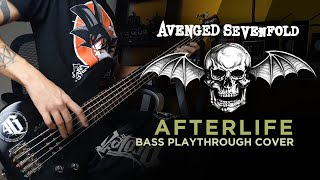 Download Avenged Sevenfold - Afterlife Bass Playthrough Cover by Canuto // Neural DSP Microtubes B7K Ultra