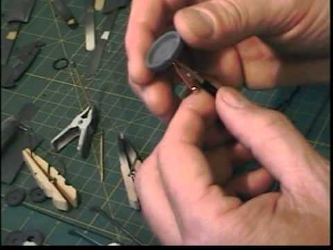 How to make pulleys and belts for model car engine (Foose firebird)