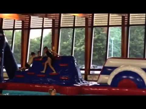 Inflatable Fun At Clements Hall Youtube