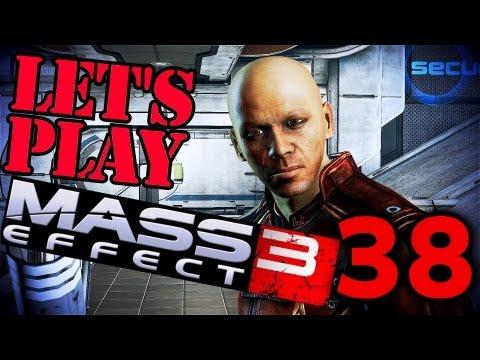 Let's Play Mass Effect 3 [ULTRA,MAX DLC] #38 - David Archer