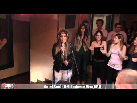 Amel Bent - Délit Mineur - Live - C'Cauet Sur NRJ