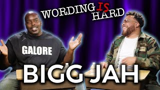 Bigg Jah VS Tahir Moore - WORDING IS HARD