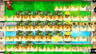 PVZ B116A Plants vs Zombies Survival Endless Day Night Pool Roof Real to infinite flags final soultion 28