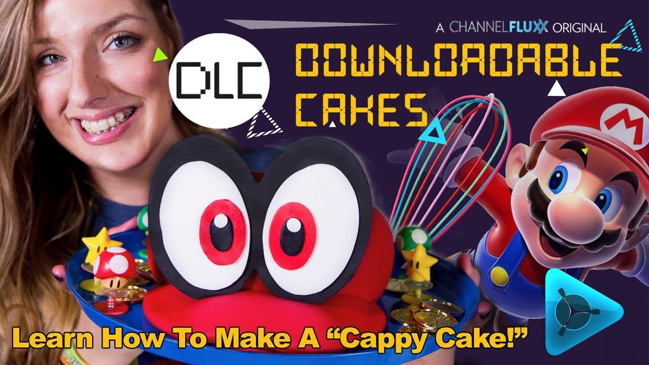 Downloadable Cakes Dlc Super Mario Odyssey Cappy Cake Youtube