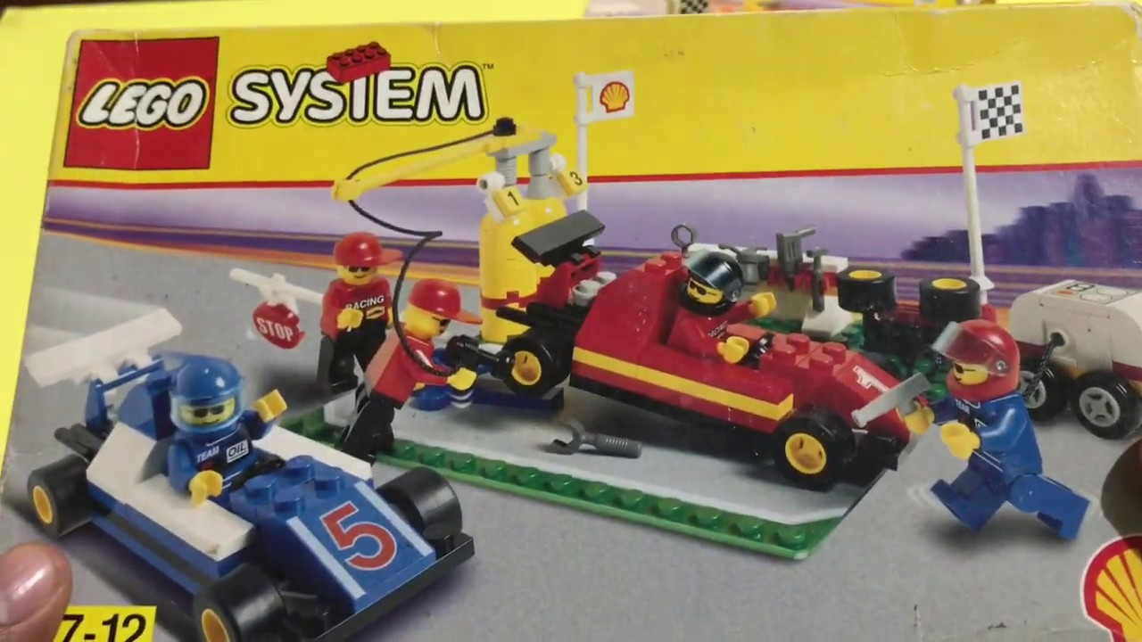 Lego Formula 1 Pit Stop #2554