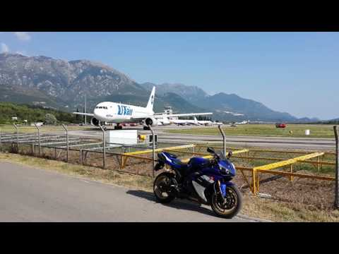 UTair Boeing 767-200 VP-BAL,wrong turn and take-off from Tivat airport