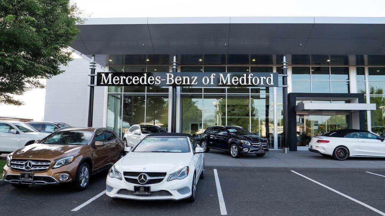 Mercedes benz medford oregon